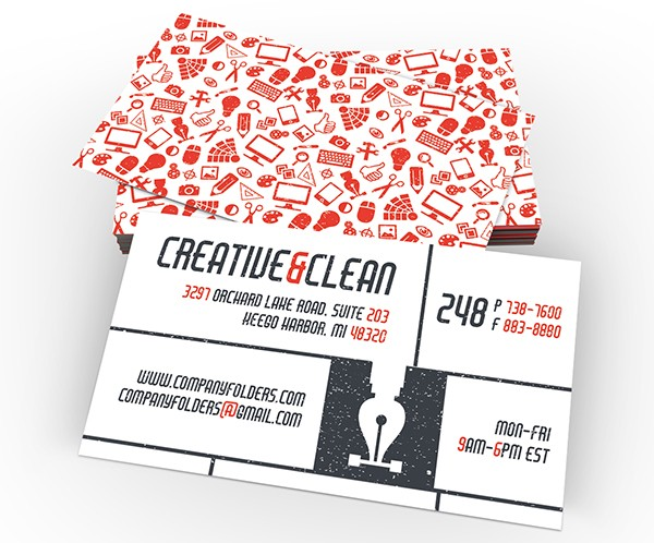 Creative & Clean Business Card Template