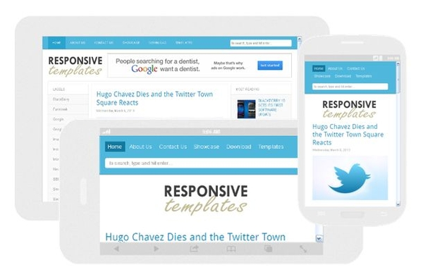25 best free blogger templates developer 39 s feed for What is a responsive template