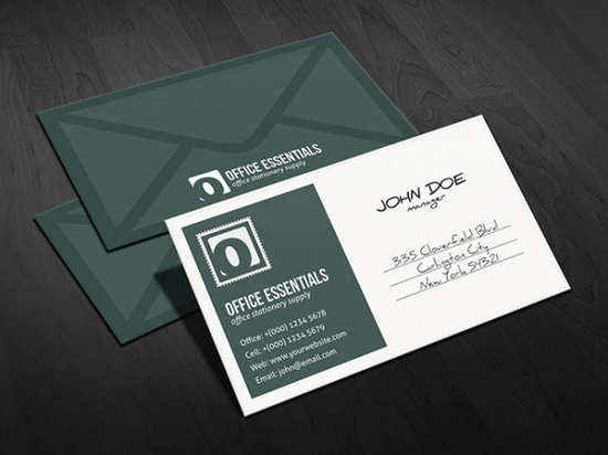Best Free Business Card Templates Developers Feed - Office business card template