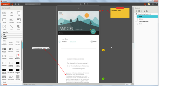 mockup design tool - Android Ui Maker