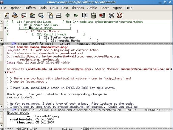 GNU-Emacs