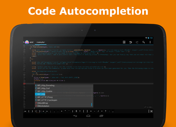 15+ Useful Android Code Editors for Mobile Developers - Developer's Feed