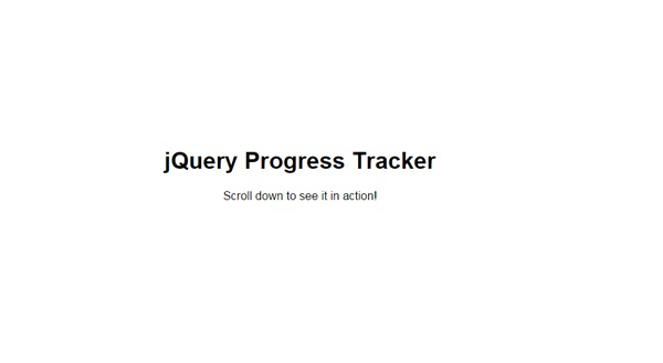 jquery-progress-tracker