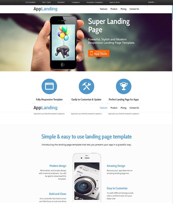25 Free Responsive Html5 Css3 Website Templates Developer S Feed