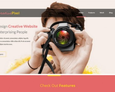 25 Free Responsive HTML5 CSS3 Website Templates