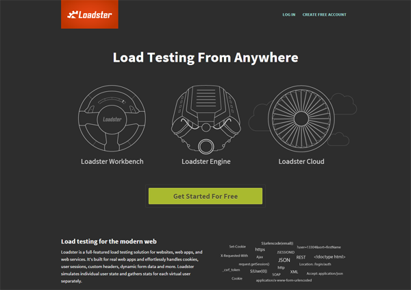 20 best performance testing tools - Loadster