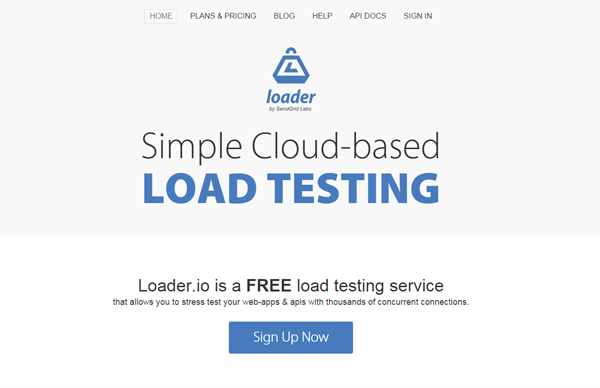 20 best performance testing tools - Loader