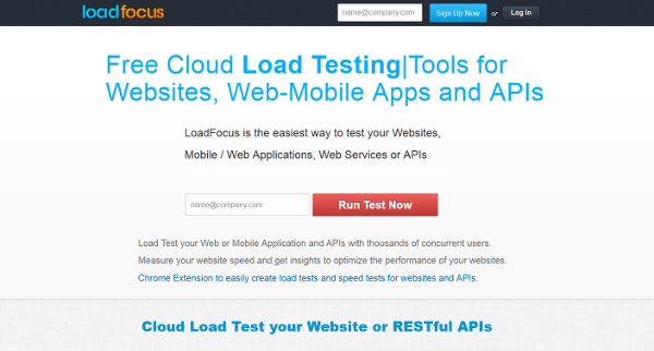 20 best load testing tools - loadfocus