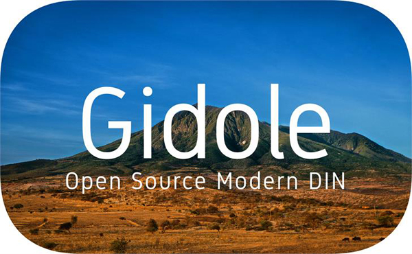 Gidole_Free_Font_by_Andreas_Larsen