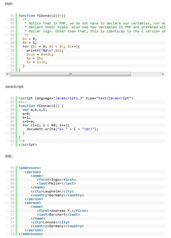Syntax Highlighter6