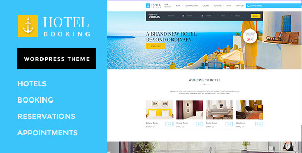 20+ Best Hotel & Accommodation Responsive WordPress Themes ...