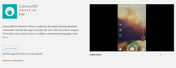 As the name defines, it is a camera application and also works as an  excellent photo editor. Camera360 is best for those, who like to take  impressive photos ...