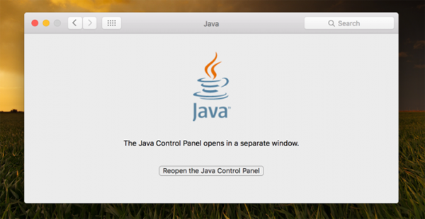 Java-on-mac