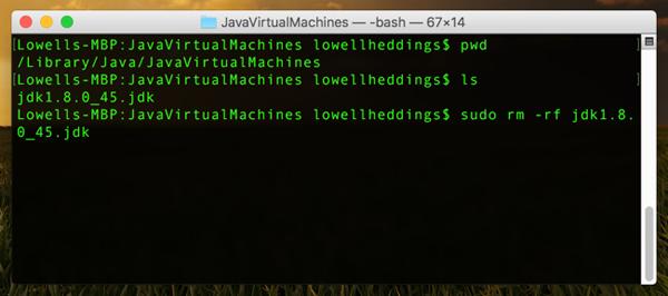 JavaVirtualMachinesbash2