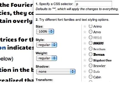 google-font-previewer