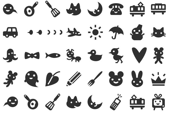 20+ Symbols, Fonts and Pictograms for Web Designers - Developer's Feed