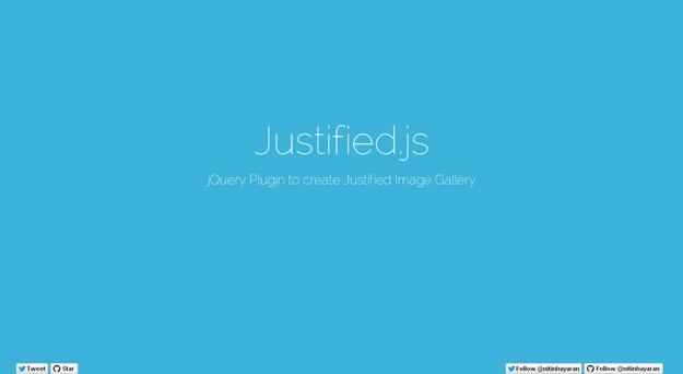 Justifiedjs