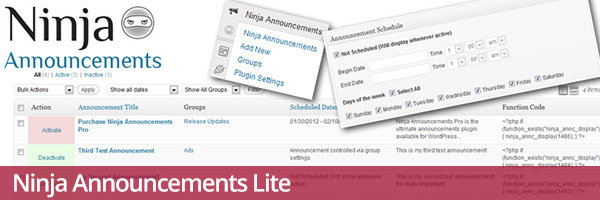 ninja-announcements-lite