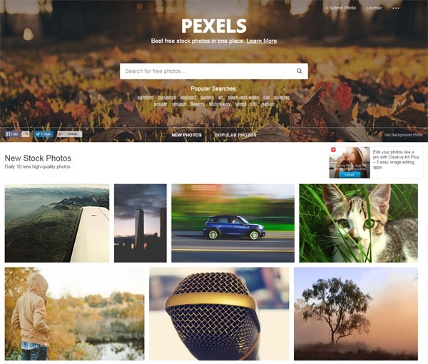 10 Best Free Stock Photo Websites - pexels