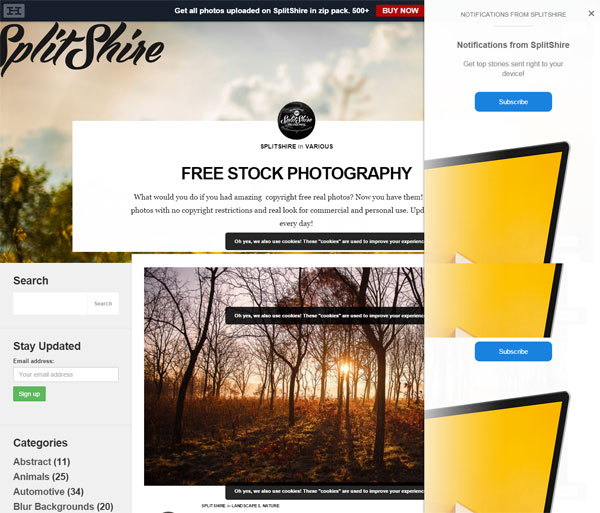 10 Best Free Stock Photo Websites - splitshire