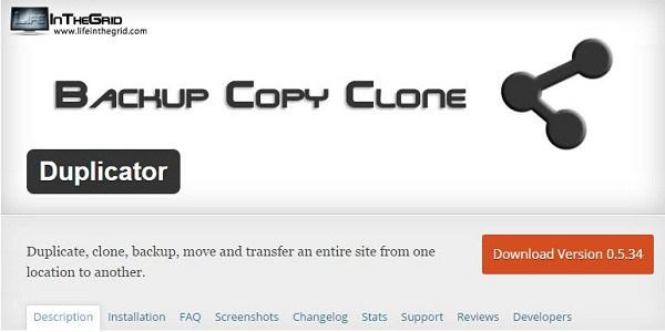how to download wordpress database
