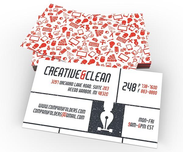 Creative & Clean Business Card Template