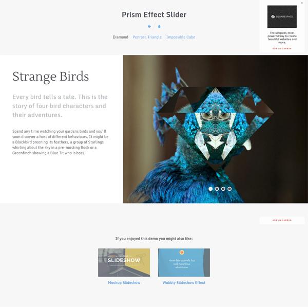 prism-effect-slider