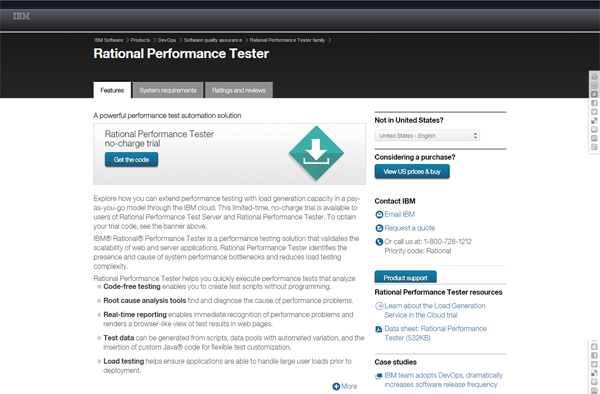20 best performance testing tools - Rational Performance Tester