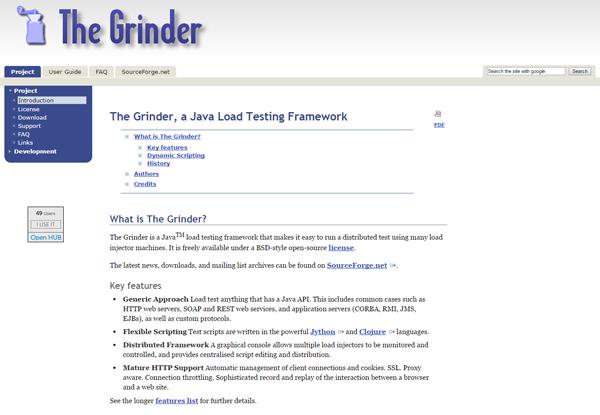20 best performance testing tools - Grinder