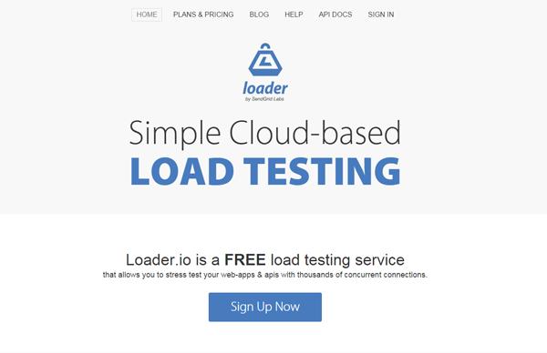 20 best performance testing tools - Loader