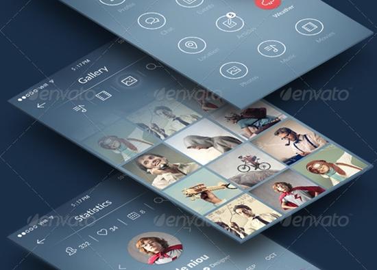 Free-Mobile-UI-Kits-11
