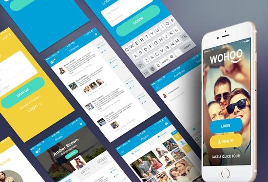 Free-Mobile-UI-Kits-2