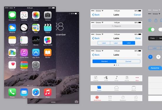Free-Mobile-UI-Kits-6