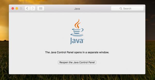 Java-on-mac