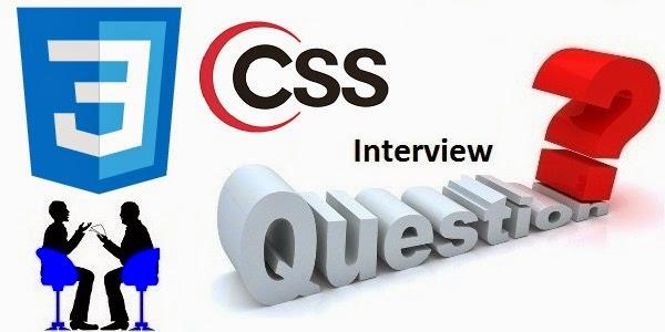 css-interview