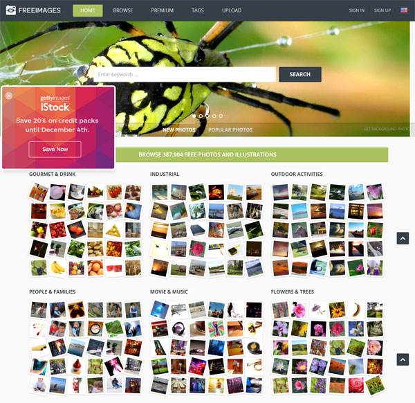 10 Best Free Stock Photo Websites - freeimages