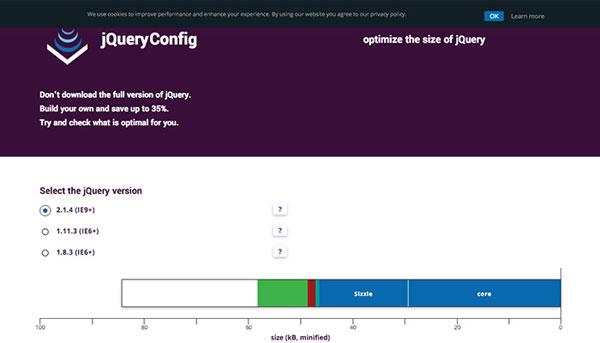 jquery-config