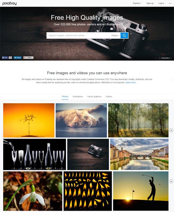 10 Best Free Stock Photo Websites - pixabay