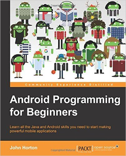 5 Great Books to Learn Android Development - Android Programming for Beginners