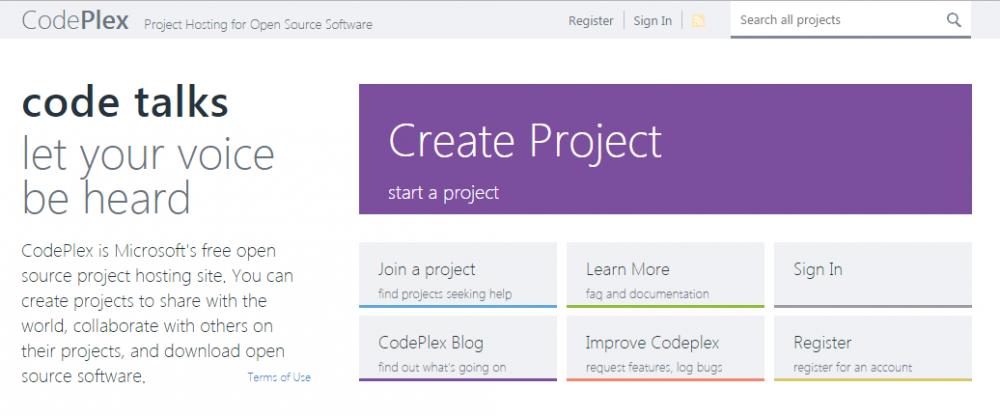 Microsoft's COdePlex